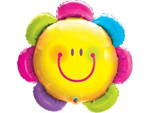 """32""""  fóliový balónek - KYTKA SMAJLÍK"""