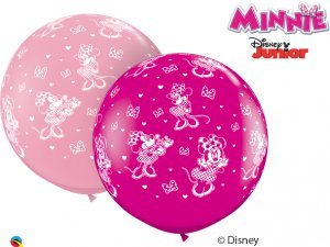 3'  Balón Qualatex DISNEY MINNIE MOUSE-A-ROUND