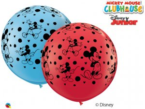 3'  Balón Qualatex DISNEY MICKEY MOUSE-A-ROUND