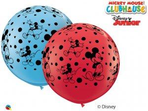 3'  Balón Qualatex DISNEY MICKEY MOUSE-A-ROUND