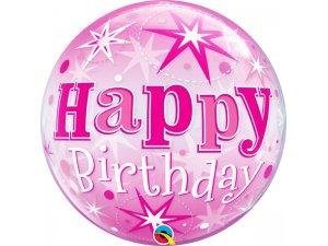 """22"""" bublina - Růžové narozeniny hvězdy"""