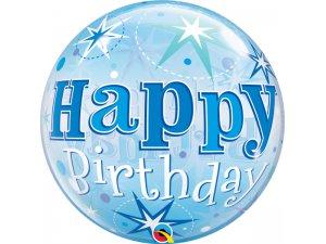 """22"""" bublina - Modré narozeniny hvězdy"""