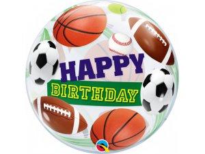"""22"""" bublina - Narozeniny sportovní míče"""