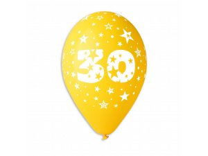 """OB balónky GS110 """"30"""" (6ks)"""