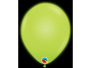 """11"""" Q-lite balónky GREEN LED 5ks"""