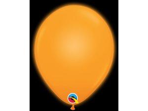 "11"" Q-lite balónky ORANGE LED 5ks"