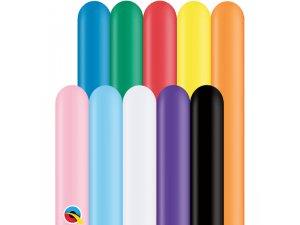 Q260 Balónek (152cm:5cm) KLASICKÝ MIX (100ks/bal)