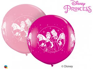 3'  Balón Qualatex PINK&BERRY PRINCESSES