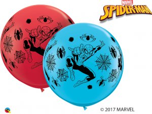 3'  Balón Qualatex RED&RBN MARVEĽS SPIDER-MAN