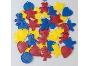 Závaží na balónky Qualatex 8g Barevné tvary