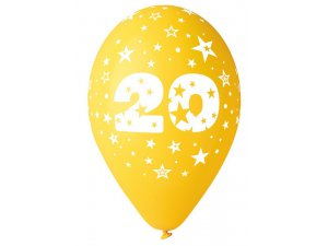 """OB balónky GS110 """"20"""" (6ks)"""