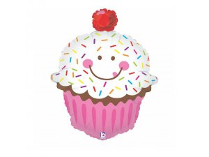 "34"" Usměvavý Cupcake"