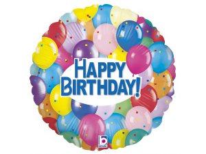 """18"""" Party balónkové narozeniny"""