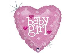 """18"""" srdce - Baby-Girl"""