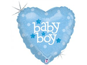"18"" srdce - Baby-Boy"