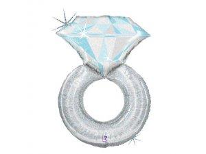 """38"""" Platinum Zásnubní prsten"""