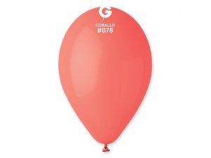 """Balónek 30cm/12"""" #078 korálový"""