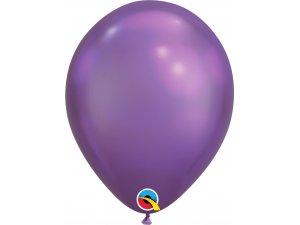 """Balónek Qualatex CHROME 11"""" fialový (100ks v balení)"""