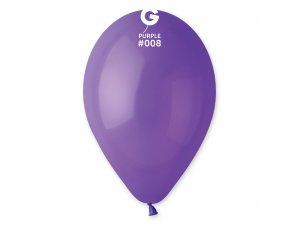 """Balónek 26cm/10"""" #008 fialový"""