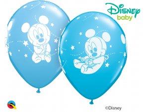 "Balónek Qualatex 11"" MICKEY MOUSE BABY STARS  (25ks v balení)"