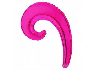Kudrlina VLNA tmavě růžová 35cm