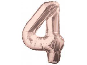 Číslice (86 cm) ROSE GOLD 4