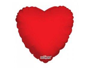 Srdce 46cm - Červené fóliový balónek