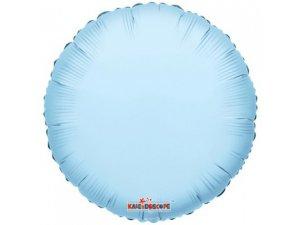 Kruh 46cm sv. modrý fóliový balónek