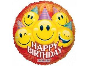 Kruh 45cm PARTY SMILIES narozeniny