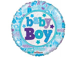 Kruh 46cm BABY BOY
