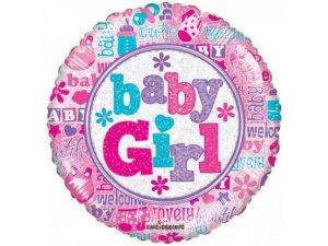 Kruh 46cm BABY GIRL
