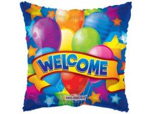 """Balónek polštář - Vítejte 18"""""""