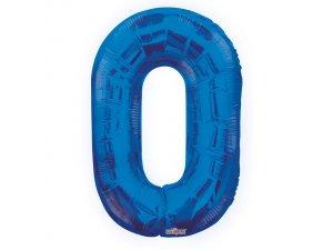 Číslice (86 cm) modrá 0