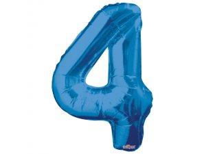 Číslice (86 cm) modrá 4