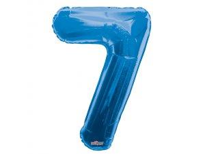 Číslice (86 cm) modrá 7