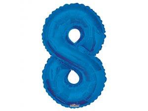 Číslice (86 cm) modrá 8