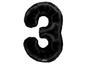 Číslice (86 cm) černá 3