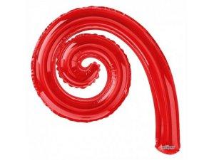 Kudrlina SPIRÁLA červená 35cm
