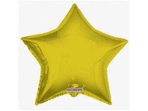 Hvězda 91cm - zlatá fóliový balónek