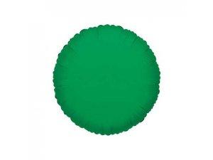 Kruh 46cm zelený fóliový balónek