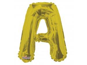 Písmeno A zlaté malé 35 cm