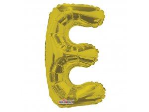 Písmeno E zlaté malé 35 cm