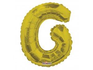 Písmeno G zlaté malé 35 cm