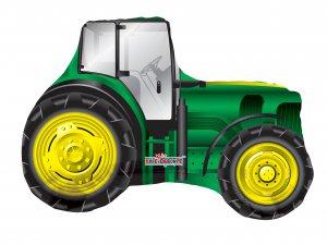 Balónek 71cm - Traktor