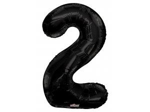Číslice (86 cm) černá 2