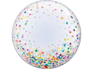 "24"" DECO bublina - konfety barevné"