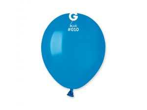 """Balónek 13cm/5"""" #010 modrý"""
