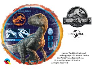 "18"" kruh - JURASSIC WORLD"