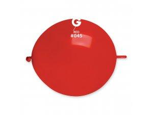 """Balónek spojovací 30cm/12"""" #045 červený (100ks/bal)"""