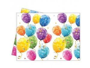 """Ubrus plastový ,,Veselé balónky""""  120x180 cm"""